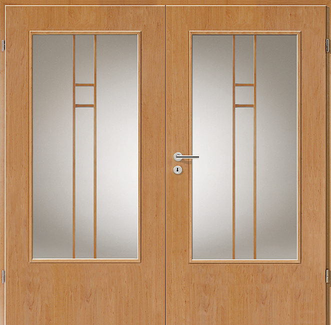 Portes double battants lance holz bois scierie for Porte de salon double battant