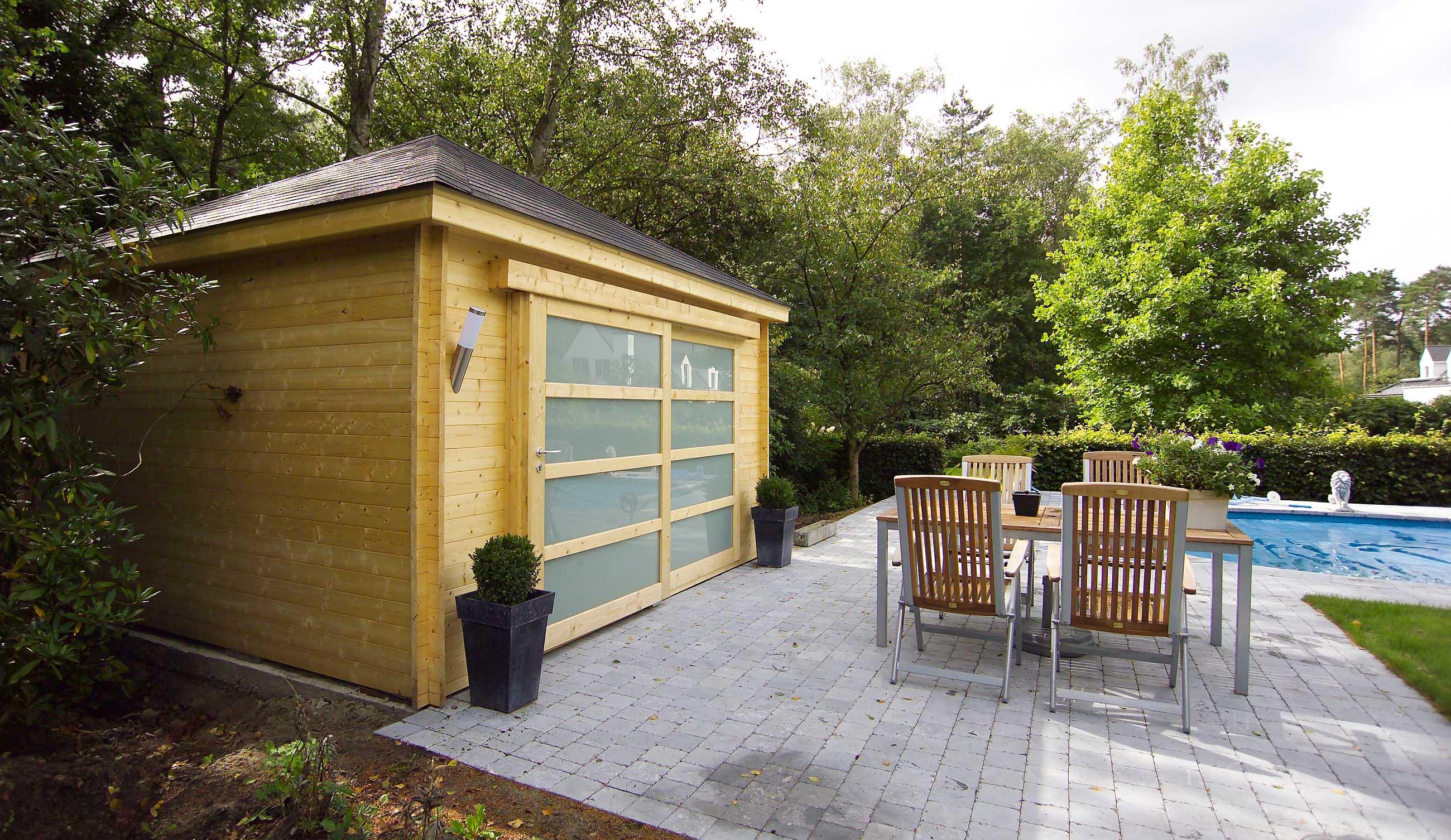 Abris de jardin lance holz bois scierie s gerei for Abris jardin belgique