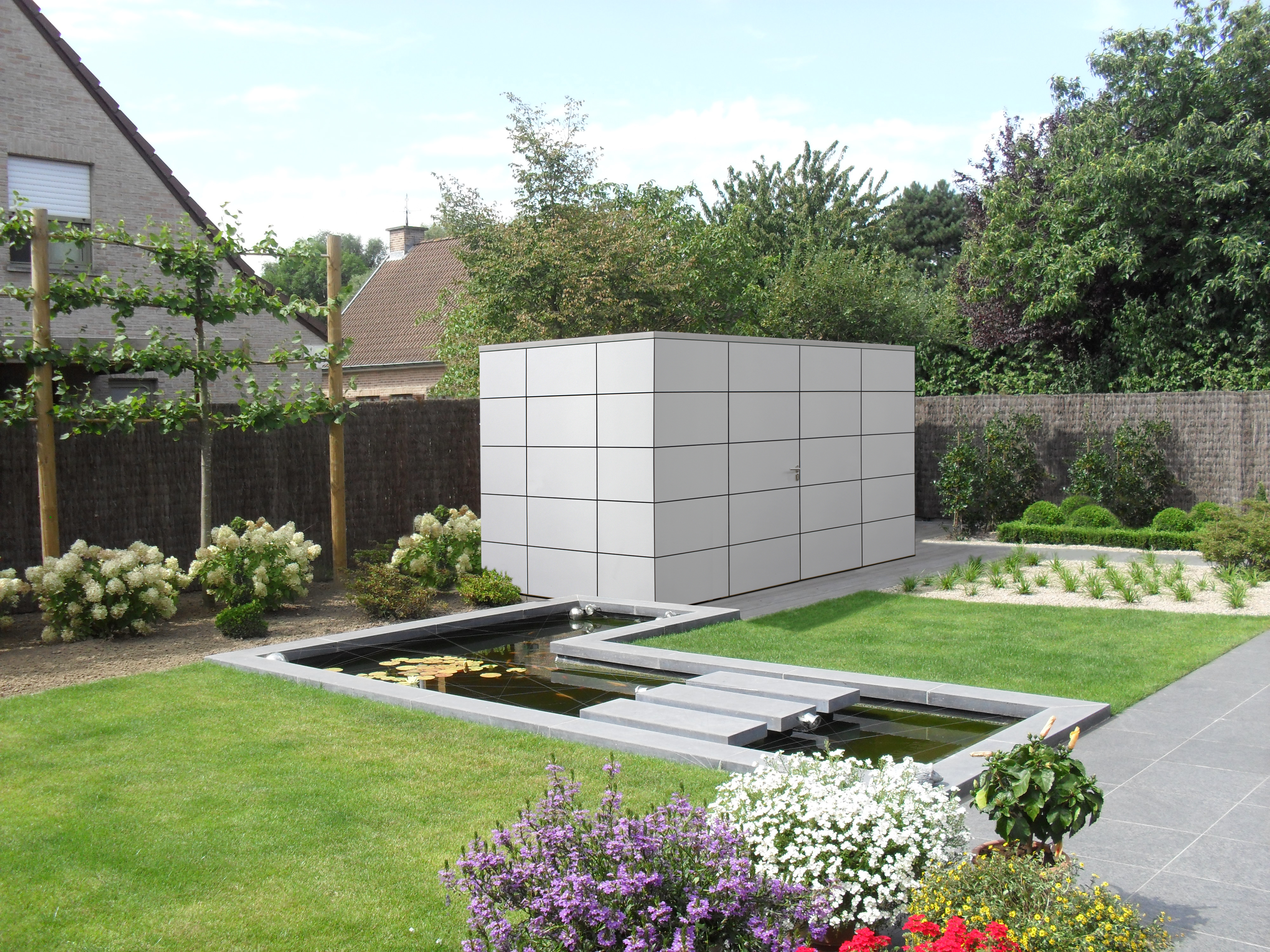 gartenhäuser pavillons garagen | lance | holz | bois | scierie, Gartengerate ideen